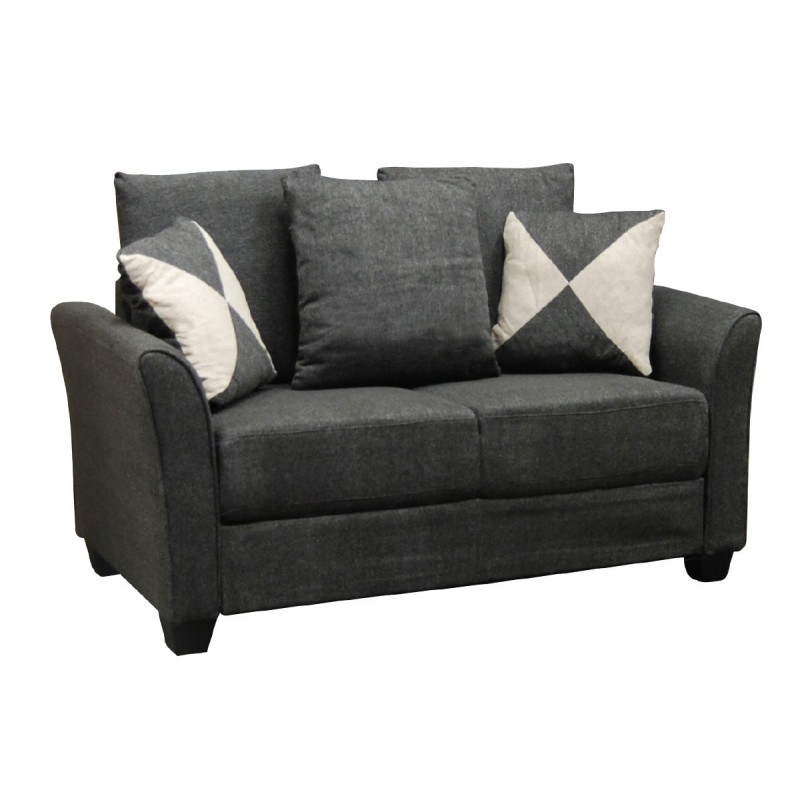 2 Seater sofa Ashley charcoal 142x80x88