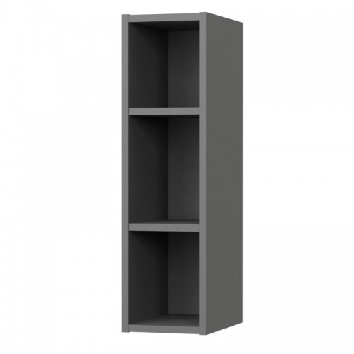 Charlotte kitchen shelves in anthracite color 20x30,5x72cm