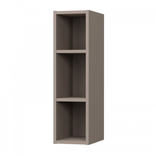 Charlotte kitchen cabinet with shelves in mocha color 20x30,5x72cm